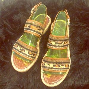 "NWT Sam Edelman ""Nala"" leopard sandals"
